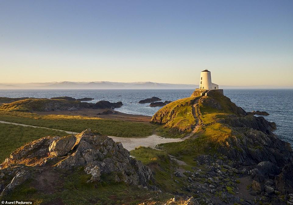 Aurel Constantin Paduraru Lighthouse on Anglesey