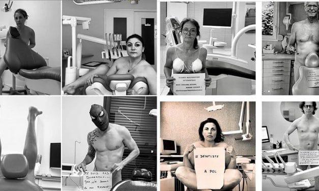 Stomatologii francezi – protest inedit